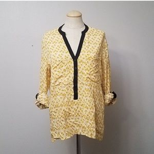 Vanessa Virginia fan blouse